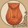 LARP Elven Leather Bag